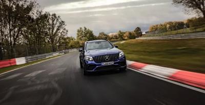 Mercedes-AMG GLC стал самым быстрым кроссовером Нюрбургринга