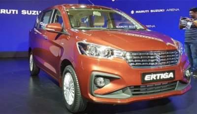 Suzuki назвала цену нового компактвэна Ertiga