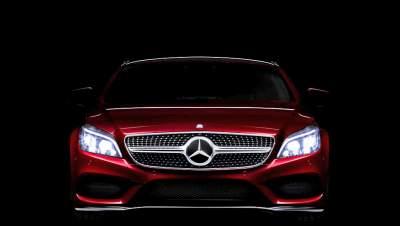 Машины Mercedes получат умные фары