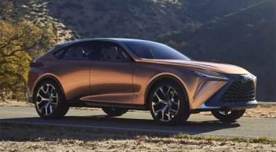 Стала известна дата выпуска нового флагманского кроссовера Lexus
