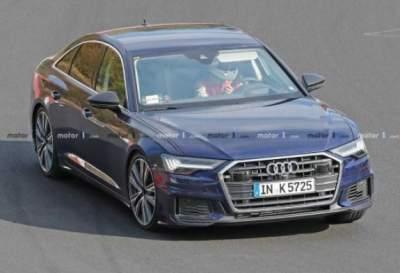 На немецкой заправке засняли новую Audi S6 без камуфляжа