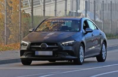 Mercedes-Benz готовит к выпуску новый CLA