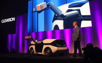 Эстонцы придумали роботизированного беспилотника-курьера