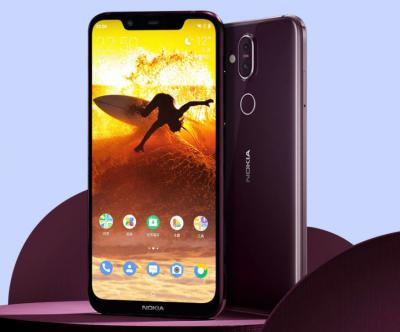 Компания Nokia представила новую версию смартфона 8.1