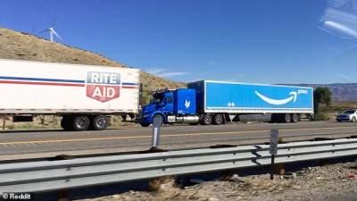 Amazon тестирует беспилотные фуры на американских шоссе