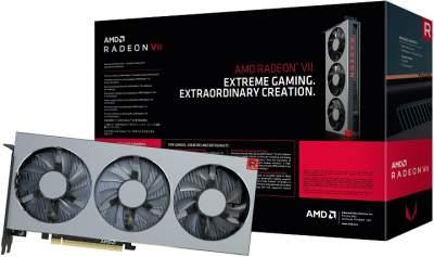 Видеокарта AMD Radeon VII поступила в продажу