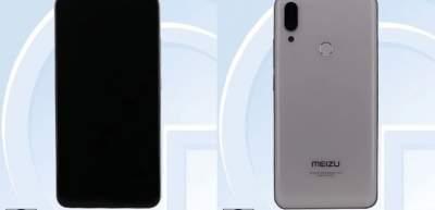 Как будет выглядеть смартфон Meizu Note 9